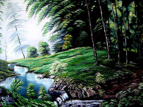 Green Forest by Shirwan Ahmed