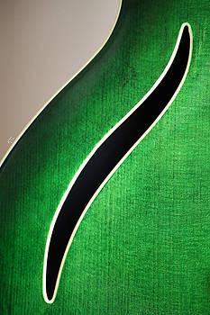 Karol  Livote - Guitar Abstract