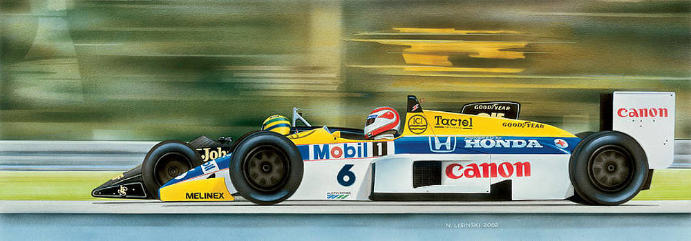 High Speed Duel by Norb Lisinski