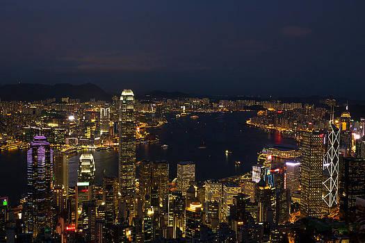 Hong Kong Night Scene by Jason KS Leung