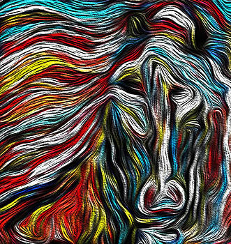 Horse In The Wind by GR Cotler