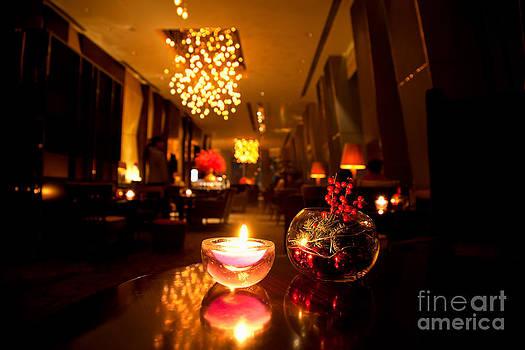 Hotel lounge by Fototrav Print
