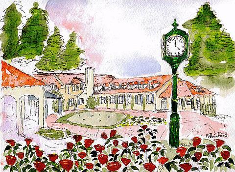Inglewood Clock by Wade Binford