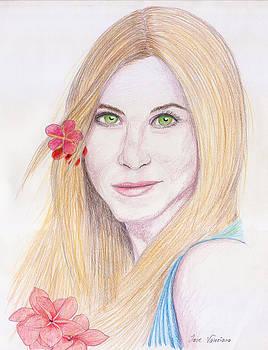 Jennifer Aniston by Jose Valeriano