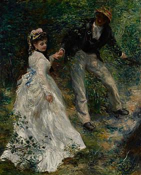 Pierre Auguste Renoir - La Promenade