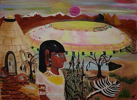 Leaving Mars by Ann Teicher