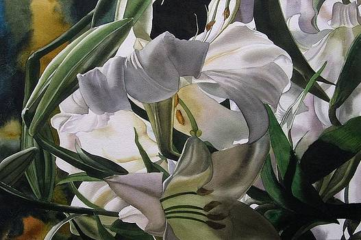 Alfred Ng - lily in white