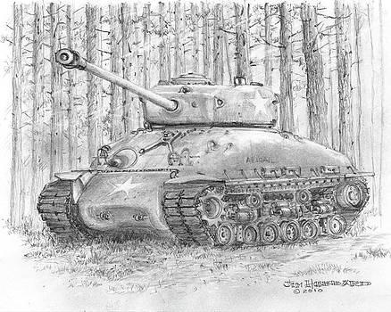 Jim Hubbard - M-4 Sherman Tank