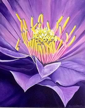 Macro flower by Anthony Masterjoseph