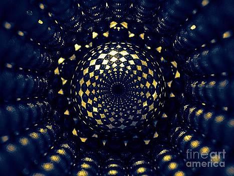 Magnetic Pentagonal Tube by Mark Teeter