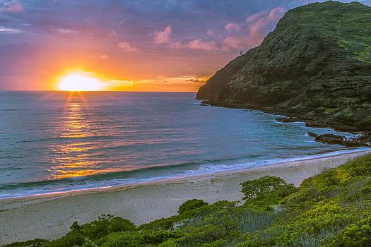 Makapuu Sunrise 1 by Leigh Anne Meeks