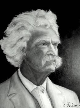 Mark Twain by Anne Barberi