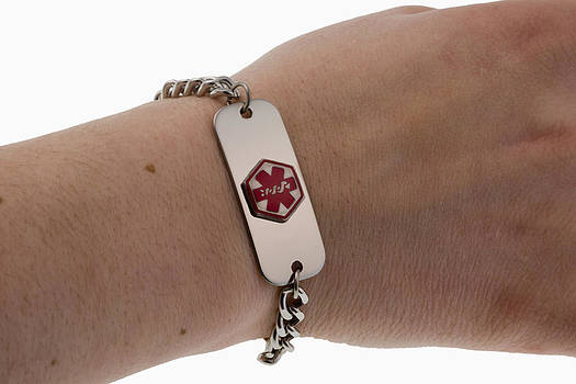 Medical Bracelet by Science Stock Photography