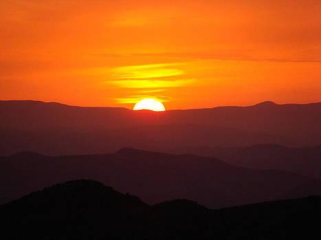 Megress Sunset by Faouzi Taleb
