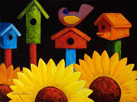 Midnight Garden by Oscar Ortiz