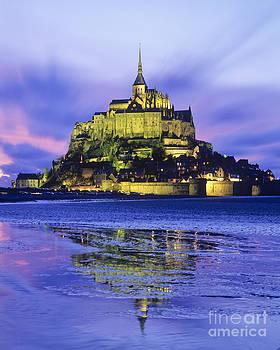 Mont St Michel by Derek Croucher
