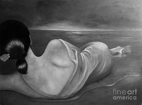 Moonbathing by Jaqui Yebra
