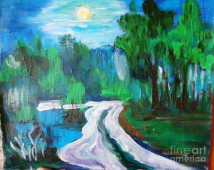 Moonlit night by Sonali Singh