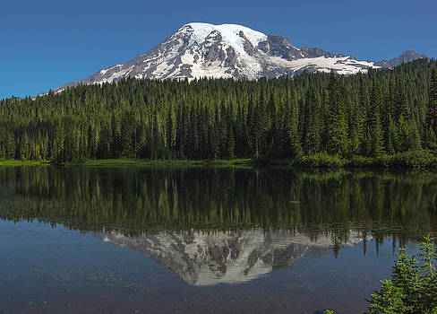 Mount Rainier from Reflection Lake by Bob Noble Photography