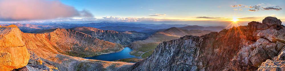 Mt. Evans Summer Sunrise by Jim Bennett