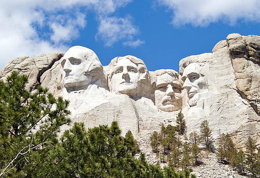 Mt. Rushmore by Jaci Harmsen