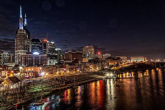 Nashville TN Skyline by Patrick Collins