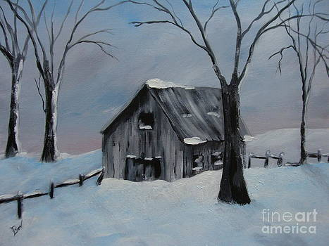 Old Barn by Beverly Livingstone