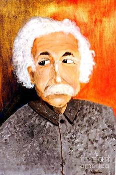Old Einstein by Olga R