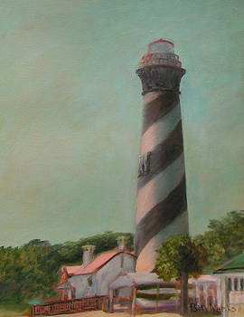 One Day at the St. Augustine Lighthouse by Patty Weeks