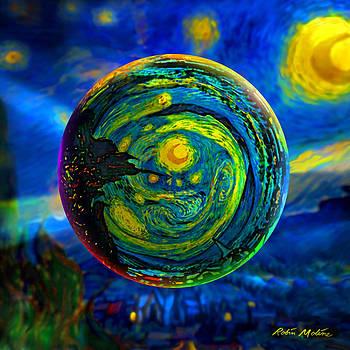 Robin Moline - Orbiting A Starry Night
