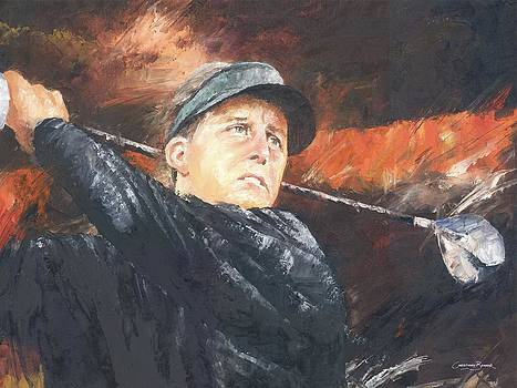 Phil Mickelson by Christiaan Bekker