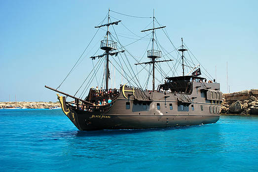 Pirate ship by Ivelina Angelova