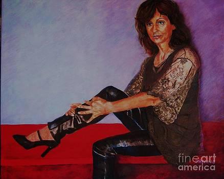 Portrait Of Maria by Dagmar Helbig