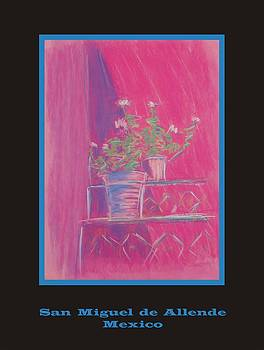Poster - Pink Geranium by Marcia Meade