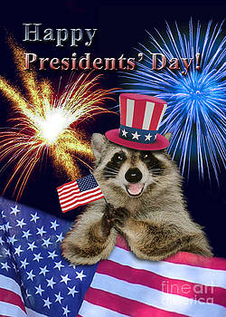 Jeanette K - Presidents Day Raccoon