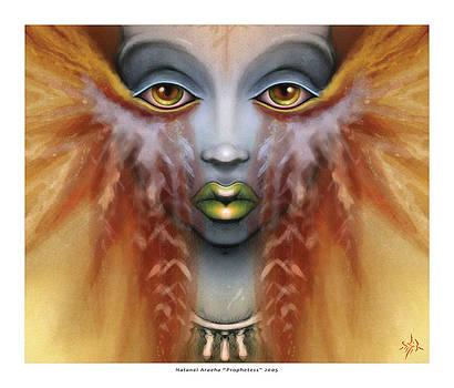 Prophetess by Natanel Araeha