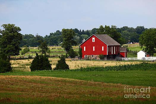 James Brunker - Red Barn Gettysburg