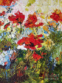 Ginette Fine Art LLC Ginette Callaway - Red Poppies Provencale