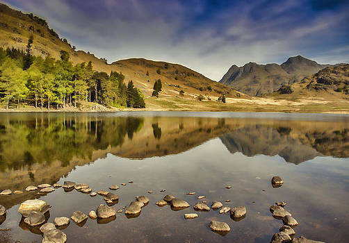 Reflections Blea Tarn by Trevor Kersley