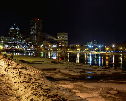 Rochester at Night by Tim Buisman