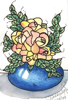 rose Bowl by Debralyn Skidmore