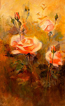 Roses by Litvac Vadim