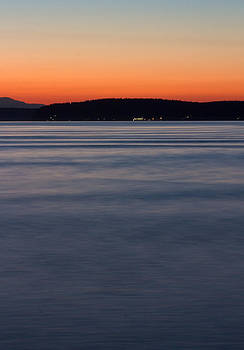 Ruston Way Tacoma Sunset by Bob Noble Photography