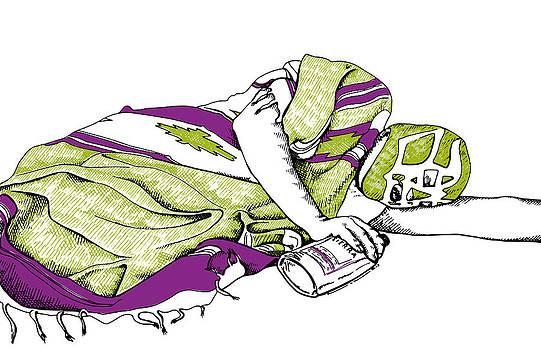 Sad Lucha Libre by Karl Addison