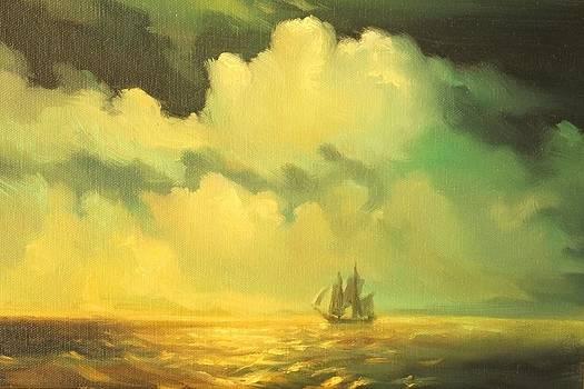 Seascape by Michael Chesnakov