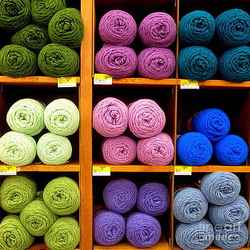 Skeins of Wool by Ranjini Kandasamy