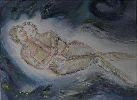 Endless blue love by Alina Craciun