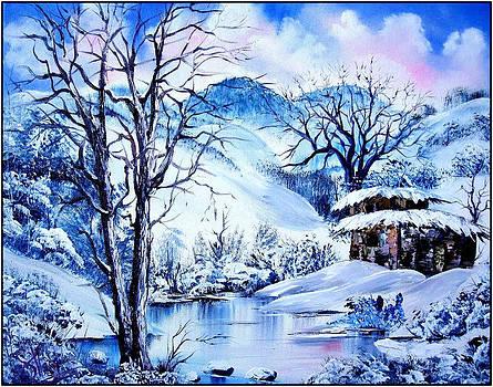 Snowy Day by Shirwan Ahmed