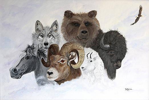 Spirit Totems by Judy M Watts-Rohanna