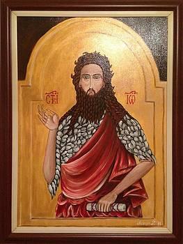 St Jovan Krstitelj by Marija Ristovic